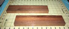 Two Hawaiian OHIA Wood Boards~Kiln Dried~11 1/4