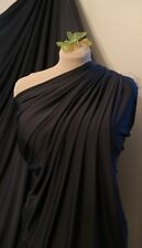 CHARCOAL Grey Jersey Lycra Spandex 4 Way Stretch Fabric Dress Prom Dance 60""