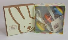 Tolo Baby Shake Rattle & Roll Baby Toy Multi Color Rattler NEW in Gift Box