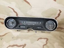1966 Fleetwood Brougham Instrument Cluster Speedo W/ Clock Cadillac Caddy 66