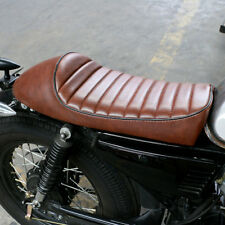 Vintage Motorcycle Cafe Racer Seat Brown Hump For Kawasaki KZ550A 650B Z125 Pro