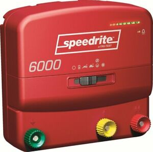 Speedrite 6000 Fence Charger 60 Miles
