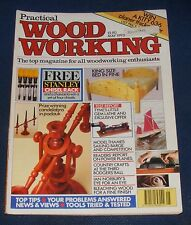 PRACTICAL WOOD WORKING MAY 1993 - KING SIZE BED IN PINE