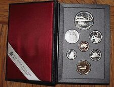 1991 Canadian Double dollar Proof Set