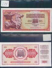 YUGOSLAVIA 100 DINARA 1986 UNC (rif. 229)