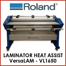 ROLAND HEAT ASSIT LAMINATOR - VersaLAM VL-1650LT - INCLUDES TROLLEY -PROTECH CNC