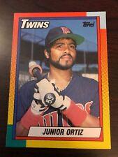 1990 Topps Traded Junior Ortiz Minnesota Twins 85T