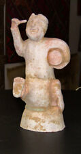 """Sale price for Older Chinese """"buried"""" pottery Drummer boy was $299 now $149"""