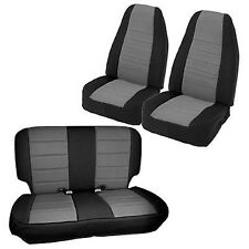 Smittybilt 471322 Front + Rear Neoprene Seat Covers, Jeep TJ Wrangler 03-06