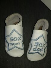 SOFT LEATHER BABY SHOES PRAM  BOYS 0-6months