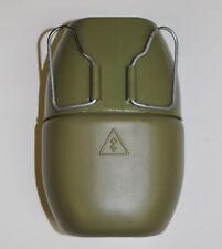 DESERT STORM IRAQI ARMY LARGE PLASTIC CANTEEN & CUP DARK GREEN