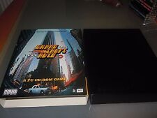 Grand Theft Auto (PC: Windows, 1997) - BIG BOX version Britannique Nr Comme neuf