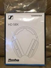 Massdrop Sennheiser HD58X Jubilee Headphones Black BRAND NEW IN BOX