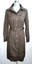 Madeleine NEUF t. 42 chemise robe manches longues hemdkleid Boutonnage dress chemise longue