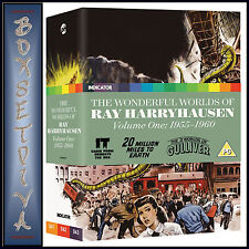 THE WONDERFUL WORLDS OF RAY HARRYHAUSEN VOLUME ONE 1955-1960 *BRAND NEW BLU-RAY