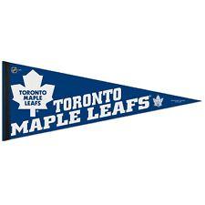 "Toronto Maple Leafs NHL 29"" long x 12"" wide Pennant Maple Leafs Wincraft"