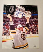 TYLER SEGUIN SIGNED BOSTON BRUINS STANLEY CUP 8X10 PHOTO JSA CERTIFIED