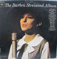 The Barbra Streisand Album LP 1963 Columbia Records CL 2007 VG+ Pop