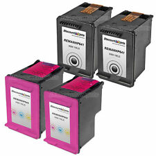 4 BLACK COLOR CC641WN Ink Cartridge 60XL 60 XL for HP Deskjet D1663 F2483 F4210