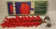 50 count chili paper light swag Holiday Time