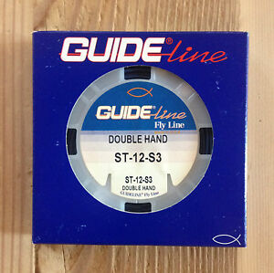 Guideline shooting Tapers double hand fast sink 3, 43ft, dark blue ST- 12- S3