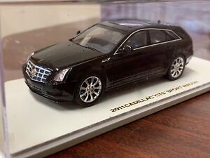 Rare! 1/43 Luxury Collectibles 2011 Cadillac CTS Sport Wagon Resin Model Black