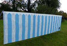 OLPRO 4 Pole Windbreak Picket Fence Design