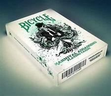 Bicycle Karnival Assassins Deck - Green - Playing Cards - Magic Tricks - New