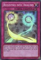 YU-GI-OH! REGISTRO DELL'ARALDO NUMH-IT059 SUPER RARA YUGIOH ITALIANO
