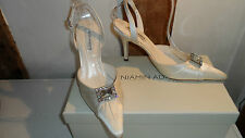 Size 36 Ivory Wedding Shoes By Benjamin Adams. Brand New in Box