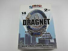 DRAGNET: World's Most Famous Detectives - Black & White - 2 DVD Set  14 Episodes