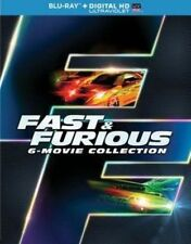 Fast Furious 6 Movie Collection 0025192236259 Blu Ray Region a