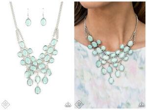 NWT! Paparazzi ~ Serene Gleam ~ Blue Necklace