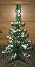 "18"" Snow Capped Christmas Tree W Stand NIB Artificial Woodlands Pine"