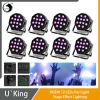 Party Bar 2-12x1W RGBW Pars Includes Stand LED DJ Lighting 2-10w RGBW Moonflowers and a Remote Control.