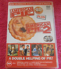 AMERICAN PIE 1 & 2 DISC DVD SET THE ULTIMATE COLLECTOR'S DOUBLE DISC PACK