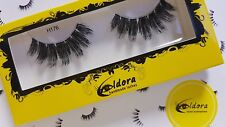 Eldora False Eyelashes H176 Human Hair Strip Lashes