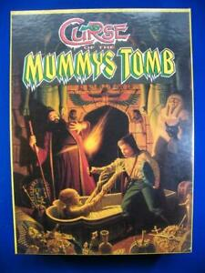 Curse Of The Mummys Tomb - Games Workshop - With Metal Figures - VG+