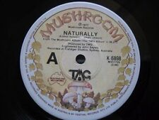 TMG or Ted Mulry Gang Vinyl 45 Naturally / Sha La La Lee Mushroom K-6898 RARE