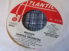 Simbora Orchestra 45 Brazuca Atlantic Promo 3447 Latin Disco Funk