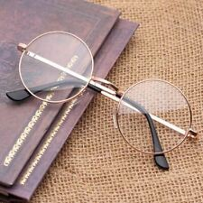 Women Plain Glasses Round Alloy Gold Silver Color Fashionable And Nice-looking G