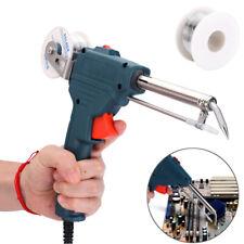 Auto Electric Soldering Iron Gun Adjustable Temperature 60W with Solder Wire