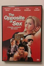 Dvd - THE OPPOSITE OF SEX  (editoriale)