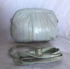 MAIDEN VOYAGE Padded Eel Skin Leather Cross Body/Shoulder Bag / Handbag