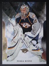 NHL 98 Pekka Rinne Nashville Predators Artifacts 2011/12