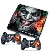 Joker for PlayStation 3 PS3 Slim 2 Controller Skins Awsome Custom Stickers Skins