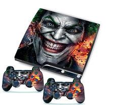 Joker for PlayStation 3 PS3 Slim 2 Controller Skins Awsome Custom Stickers Skins