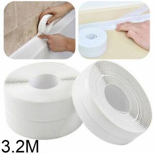 Wall Waterproof Mold Proof Self Mildew Seals Strip Kitchen Bathroom Adhesive PVC