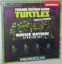 TEENAGE MUTANT NINJA TURTLES: MOUSER MAYHEM! STARTER SET TMNT HeroClix