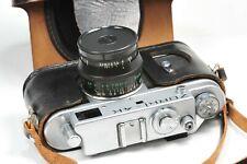 ZORKI 4K rangefinder camera with Jupiter 8, based on Leica, after CLA service